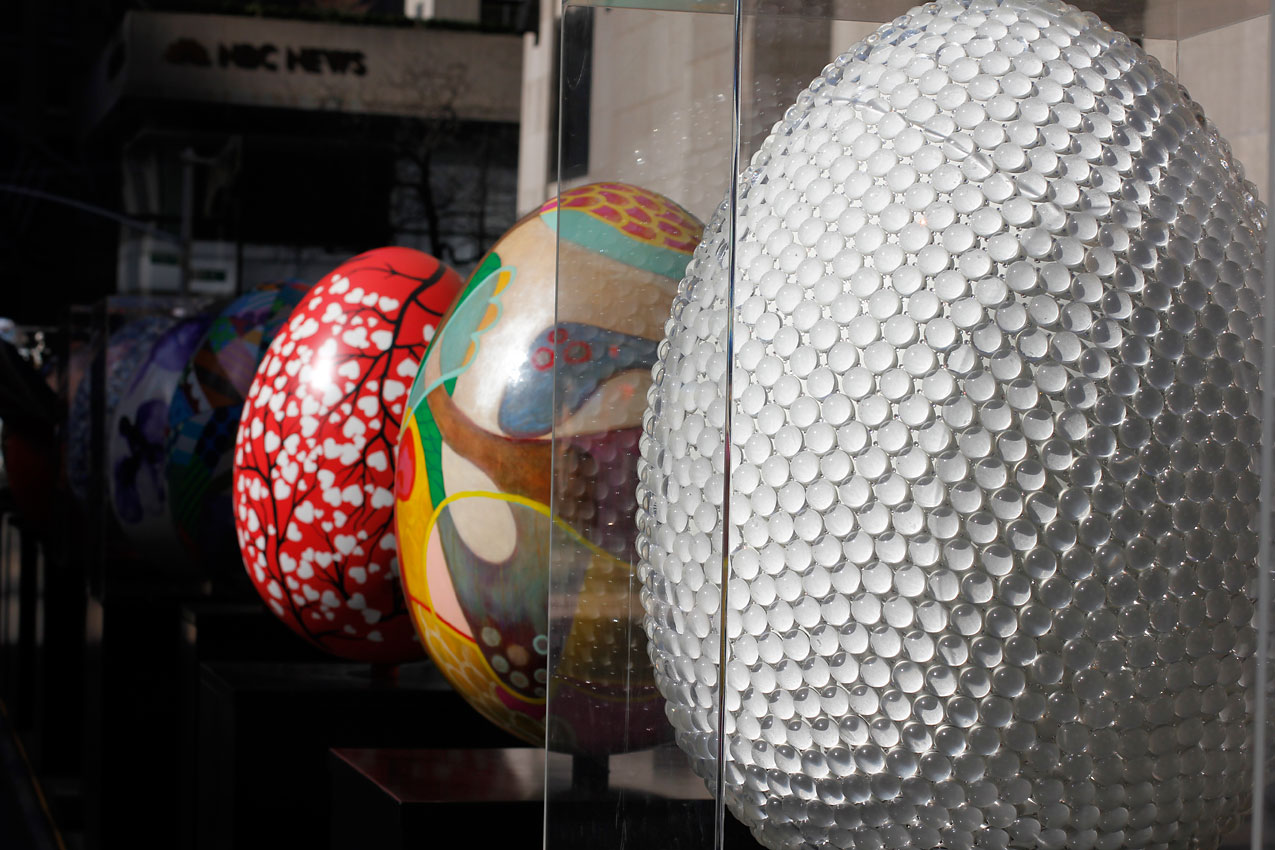 indira cesarine   the big egg hunt ny presented by faberge april 1