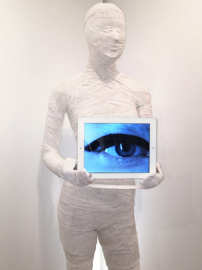 Indira-Cesarine-WE-ARE-WATCHING-YOU-Life-Sized-Mummy-Sculpture-with-Video-Art-Detail-of-Torso.jpg