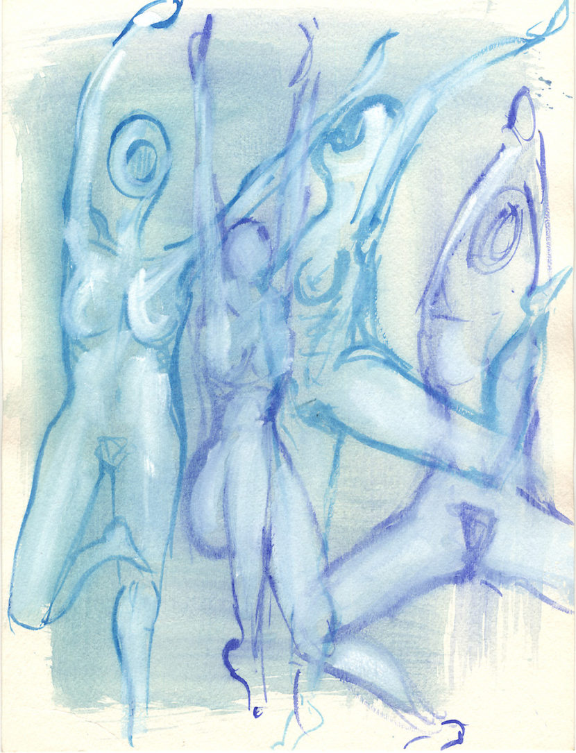 Indira-Cesarine-The-Dance-No-4-Watercolor-on-Paper-The-Sappho-Series-1992-1.jpg