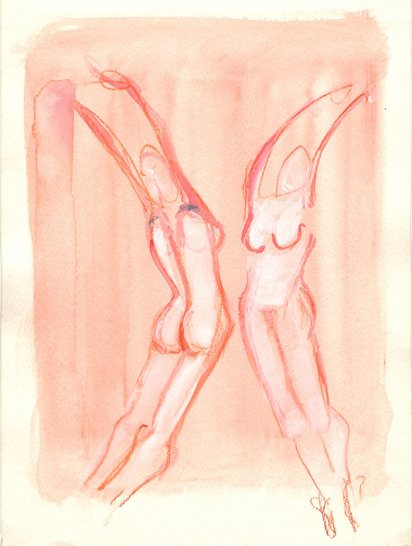 Indira-Cesarine-The-Dance-No-7-Watercolor-on-Paper-The-Sappho-Series-1992-1.jpg