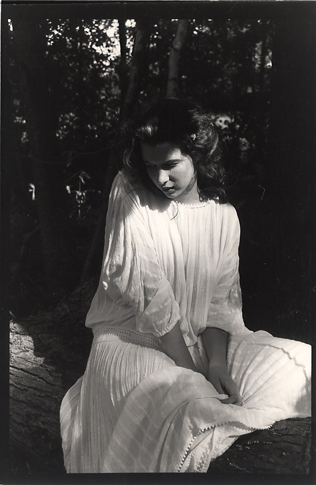 Indira-Cesarine-Ellen-in-The-Woods-Photographic-BW-Fiber-Print-Hand-Printed-1988.jpg