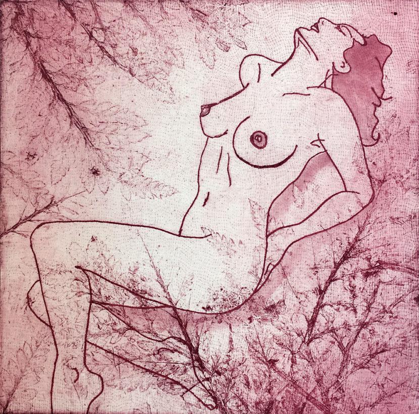 Indira-Cesarine-Girl-in-Red-The-Untitled-Space-SECRET-GARDEN-exhibit-LR.jpg