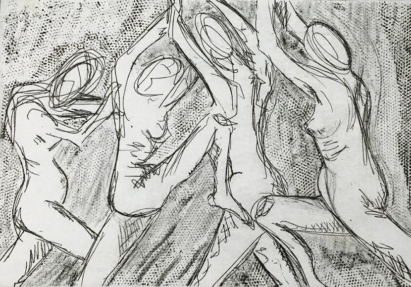 Indira-Cesarine-Four-Dancers-Intaglio-Ink-on-Rag-Paper-5-x-7-The-Sappho-Series-1992.jpg
