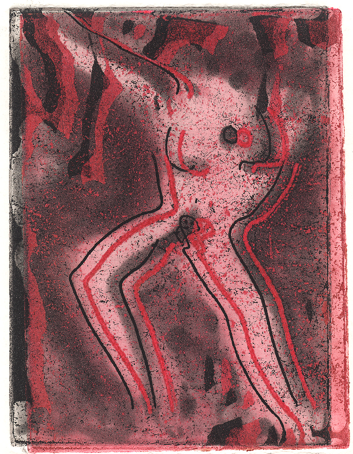 Indira-Cesarine-Portrait-of-a-Girl-Double-Print-Black-and-Red-Intaglio-Ink-on-Rag-Paper-The-Sappho-Series-1993.jpg