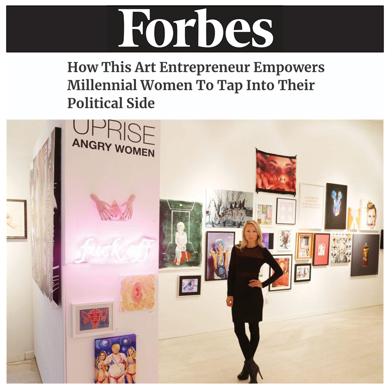FORBES Interview with Indira Cesarine