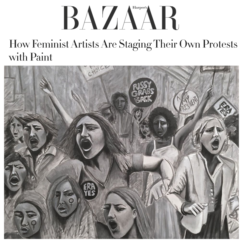 HARPER'S BAZAAR feature on Indira Cesarine