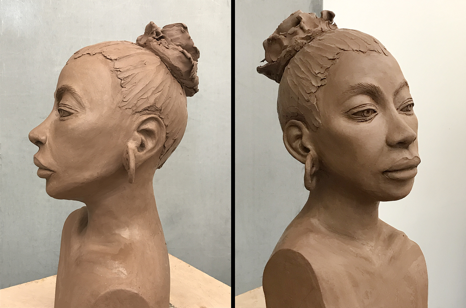 Indira-Cesarine-EARTH-GODDESS-Sculpture-in-Clay-profile-side-view-lr.jpg