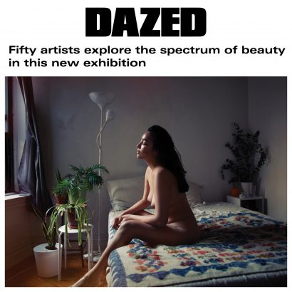 DAZED Digital Magazine - Fifty artists explore the spectrum of beauty in this new exhibition - Interview with Indira Cesarine of The Untitled Space