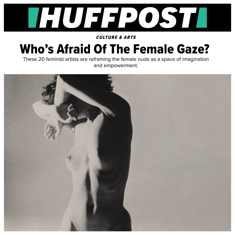 HUFFINGTON POST - Who's Afraid Of The Female Gaze? Featuring artist Indira Cesarine