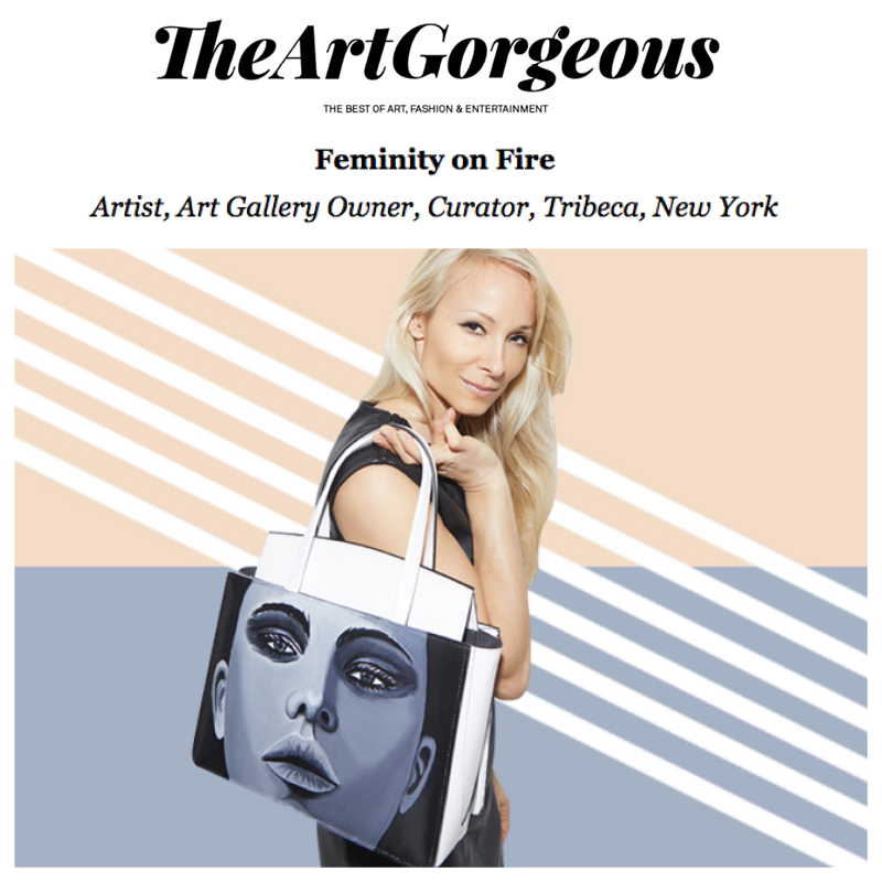 THE ART GORGEOUS - INTERVIEW WITH INDIRA CESARINE