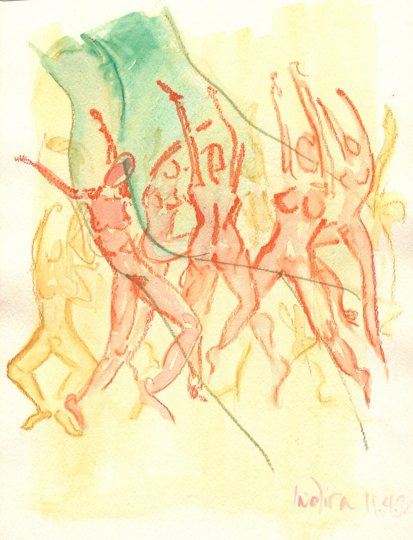 Indira-Cesarine-The-Dance-No-10-Watercolor-on-Paper-The-Sappho-Series-1992-1.jpg