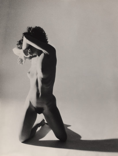 Indira-Cesarine-Nude-Girl-in-Studio-1987-Photographic-BW-Hand-Printed-Solarized-by-artist.jpg