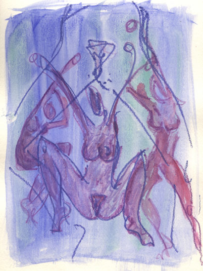 Indira-Cesarine-The-Dance-No-9-Carnal-Knowledge-Watercolor-on-Paper-1992-In-The-Raw-The-Female-Gaze-on-The-Nude-Exhibit-The-Untitled-Space-LR.jpg