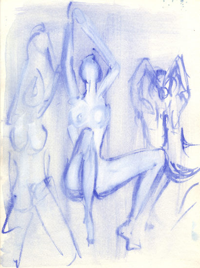 Indira-Cesarine-The-Dance-No-1-Watercolor-on-Paper-The-Sappho-Series-1992-1.jpg
