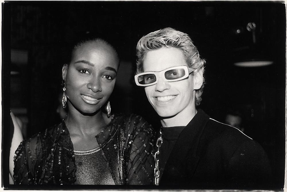 Indira-Cesarine-Mykul-Tronn-and-friend-Clubbing-Photographic-BW-Fiber-Print-Hand-Printed-1989.jpg
