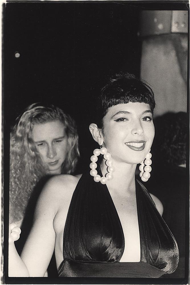 Indira-Cesarine-Toni-Senecal-at-The-Tunnel-Photographic-BW-Fiber-Print-Hand-Printed-1988.jpg