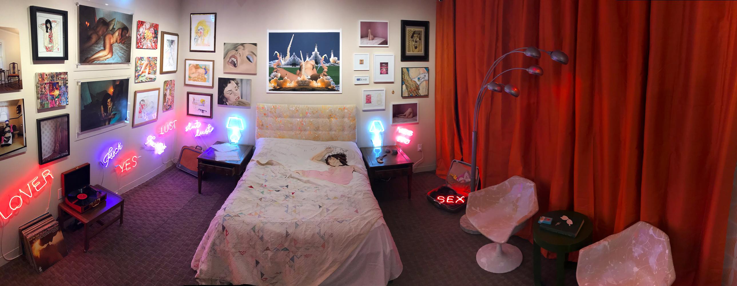 HOTEL) XX - NEON SCULPTURES / INSTALLATION - SPRING/BREAK ART SHOW