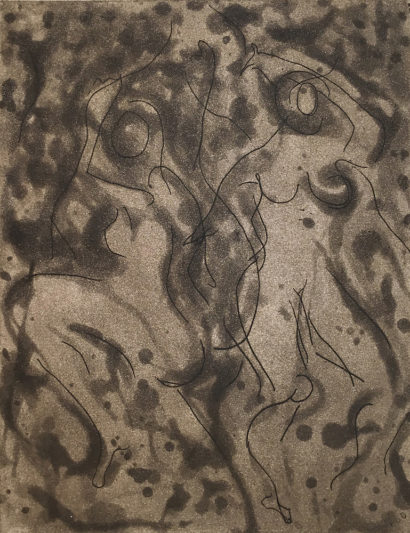 Indira-Cesarine-Dancing-in-the-Dark-Intaglio-Ink-on-Rag-Paper-with-aqua-tint-9-x-12-on-15-x-22-paper-The-Sappho-Series-1992.jpg