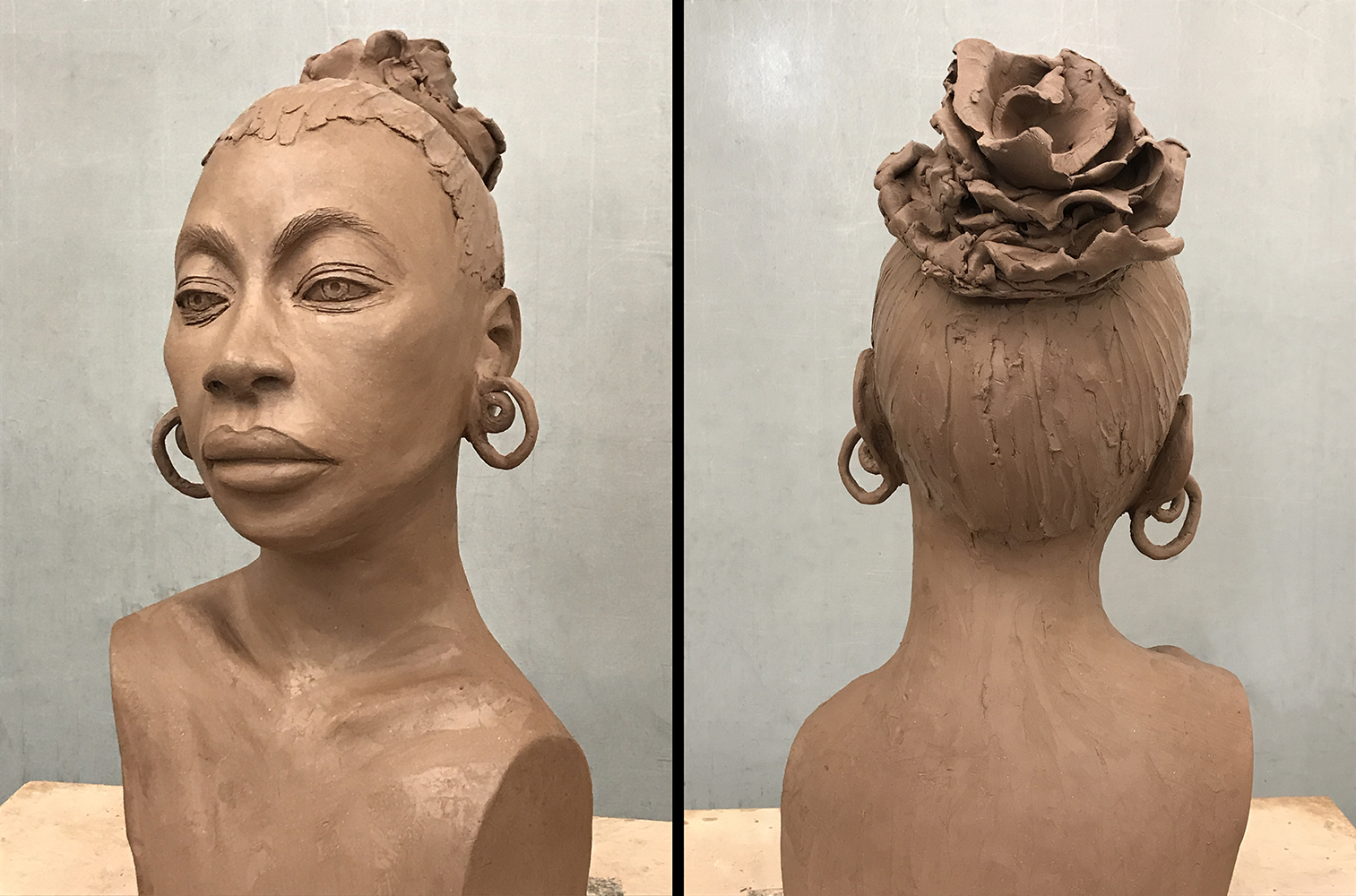 Indira-Cesarine-EARTH-GODDESS-Sculpture-in-Clay-front-back-view-lr.jpg